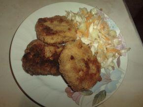 Снимка 1 от рецепта за Картофени кюфтета с риба тон