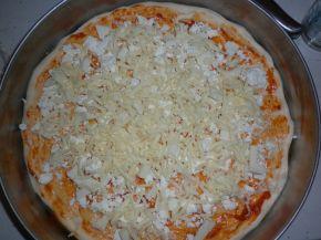 Снимка 1 от рецепта за Пица със сирена