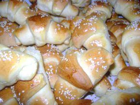 Снимка 1 от рецепта за Малки солени кифлички