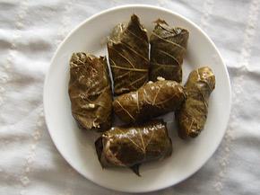 Снимка 1 от рецепта за Лозови сарми с булгур