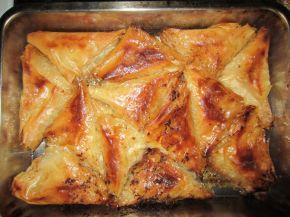 Снимка 1 от рецепта за Триъгълни баклавички