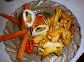 Снимка 1 от рецепта за Пилешки рулца