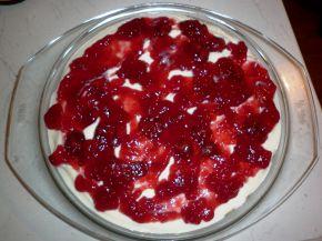 Снимка 1 от рецепта за Чийзкейк с извара
