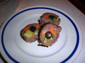 Снимка 1 от рецепта за Телешко руло