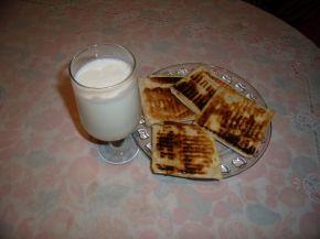 Снимка 1 от рецепта за Бързи банички с одрински кори (гюзлеми)