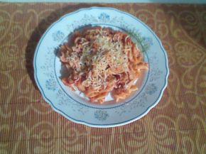 Снимка 1 от рецепта за Макарони с доматен сос и розмарин