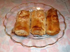 Снимка 1 от рецепта за Баница със сирене