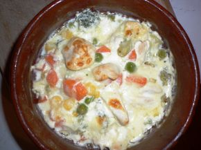 Снимка 1 от рецепта за Гювече `Пилешка вкусотия`