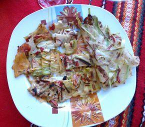 Снимка 1 от рецепта за Палачинки с праз