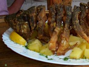 Снимка 1 от рецепта за Пържен  шаран