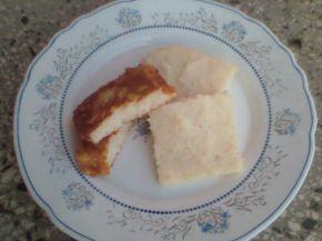 Снимка 1 от рецепта за Паниран грис с карамелени круши (ябълки)