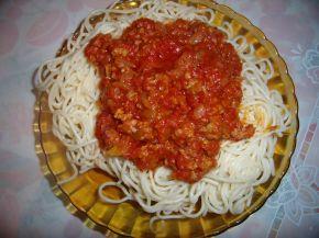 Снимка 1 от рецепта за Спагети по гръцки