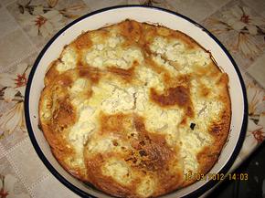 Снимка 1 от рецепта за Баница със сирене от хляб