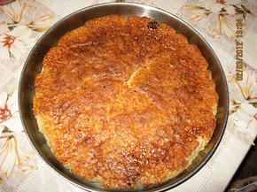 Снимка 1 от рецепта за Сладкиш с компот от праскови
