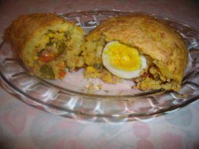 Снимка 1 от рецепта за Картофено руло
