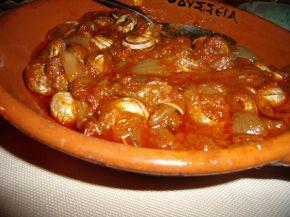 Снимка 1 от рецепта за Охлюви яхния