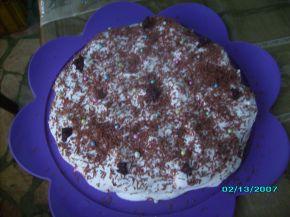Снимка 1 от рецепта за Грозна бисквитена торта