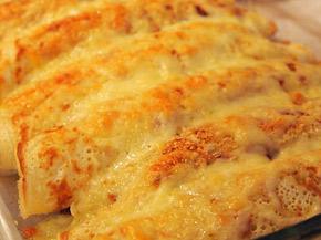 Снимка 1 от рецепта за Запечени палачинки с пълнеж