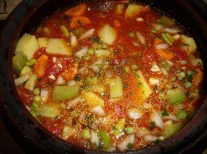 Снимка 1 от рецепта за Зеленчуково гювече