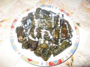 Снимка 1 от рецепта за Сарми от лапад със сос