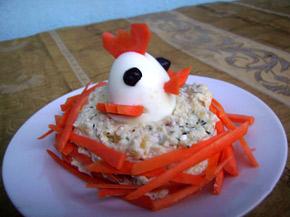 Снимка 1 от рецепта за Салата Мимоза
