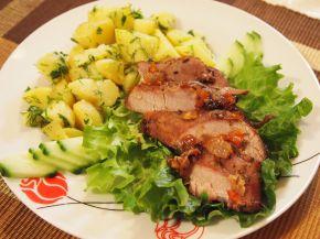 Снимка 1 от рецепта за Шпиковано свинско