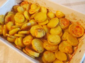 Снимка 1 от рецепта за Картофи на фурна