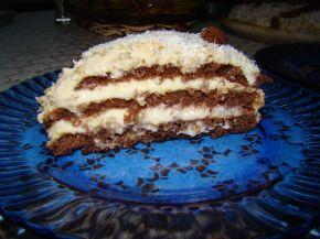 Снимка 1 от рецепта за Кокосова домашна торта