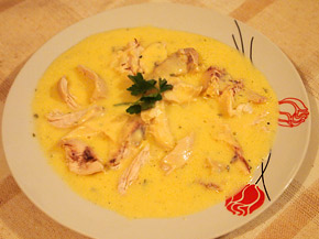 Снимка 1 от рецепта за Пиле с естрагон ала Беарнез
