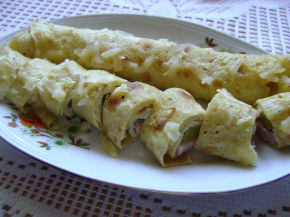 Снимка 1 от рецепта за Солени палачинки