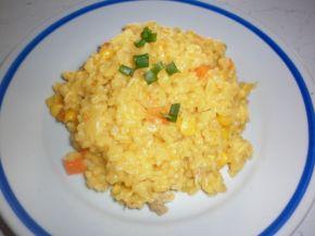 Снимка 1 от рецепта за Пилешки късчета с булгур