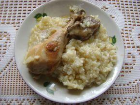 Снимка 1 от рецепта за Пиле с ориз - варено