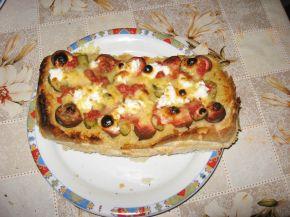 Снимка 1 от рецепта за Пица от хляб