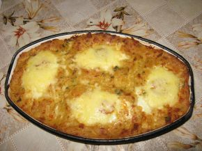 Снимка 1 от рецепта за Яйца в картофено легло