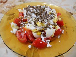 Снимка 1 от рецепта за Салата с ленено семе