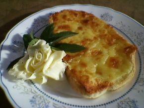 Снимка 1 от рецепта за Филийки със запечен кашкавал