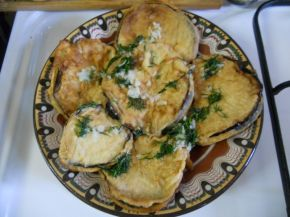 Снимка 1 от рецепта за Панирани патладжани