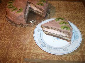 Снимка 1 от рецепта за Домашна торта с троен крем