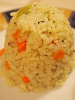 Снимка 1 от рецепта за Ориз със зеленчуци - гарнитура