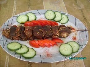 Снимка 1 от рецепта за Шишче в патладжан