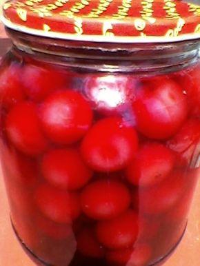 Снимка 1 от рецепта за Компот от вишни
