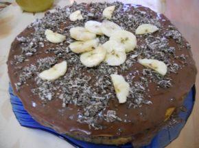 Снимка 1 от рецепта за Бананова торта с вафли