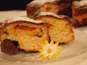 Снимка 1 от рецепта за Трицветен кекс - II вариант