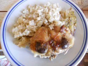 Снимка 1 от рецепта за Заешко с бял ориз