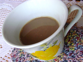 Снимка 1 от рецепта за Кафе с мляко и канела