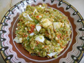 Снимка 1 от рецепта за Лютика със сирене и яйца