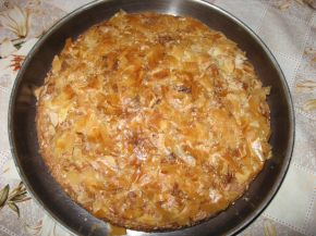 Снимка 1 от рецепта за Рошава баница с кокос, шоколад и орехи