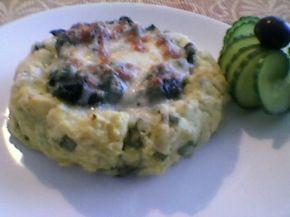Снимка 1 от рецепта за Картофени гнезда със спанак