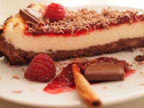 Снимка 1 от рецепта за Чийзкейк с пресни малини