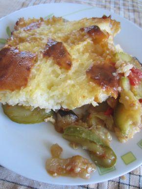 Снимка 1 от рецепта за Ориз със сирене и зеленчуци на фурна